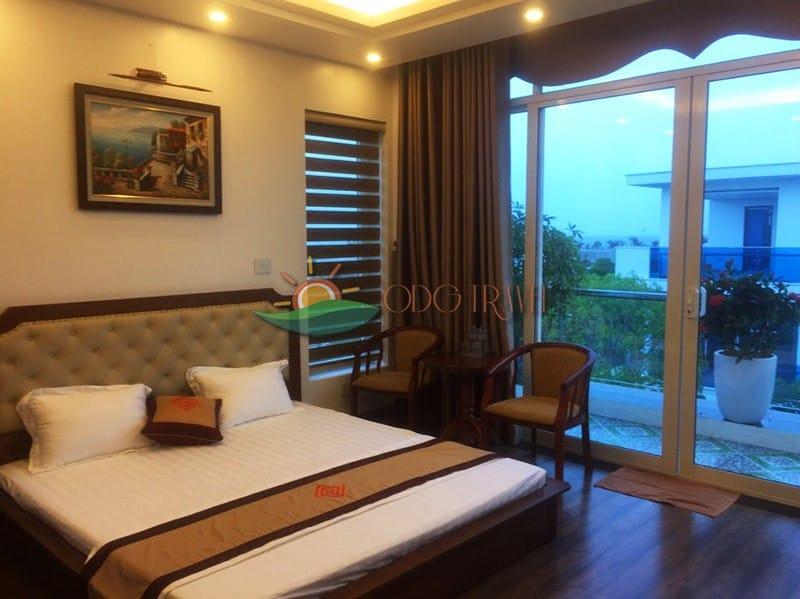 Phòng riêng có view hướng ra biển