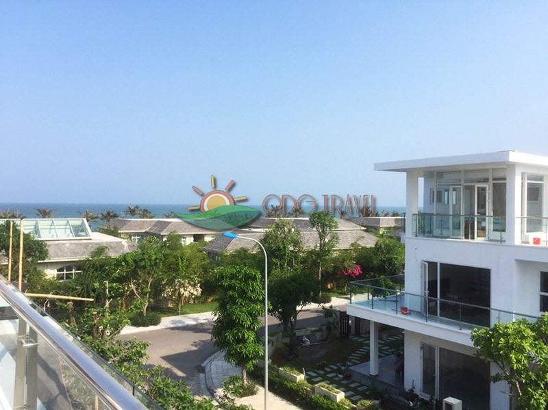 Từ ban công Villa Sao Biển ODG31 có view rất đẹp