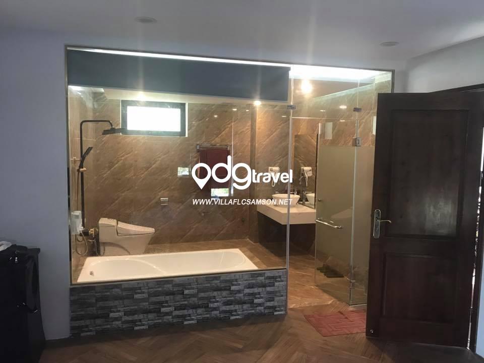 phòng tắm villa ngọc trai sầm sơn