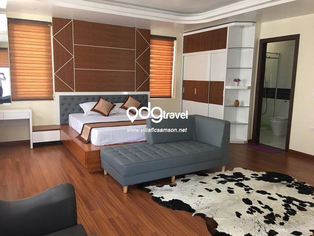 phòng ngủ villa san hô flc