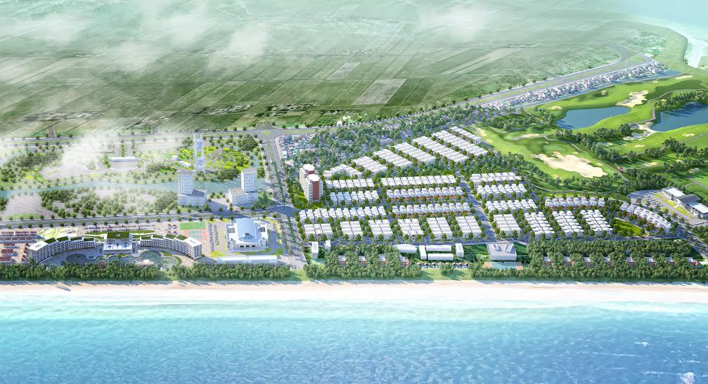 Tổng thể FLC Grand Hotel Sầm Sơn