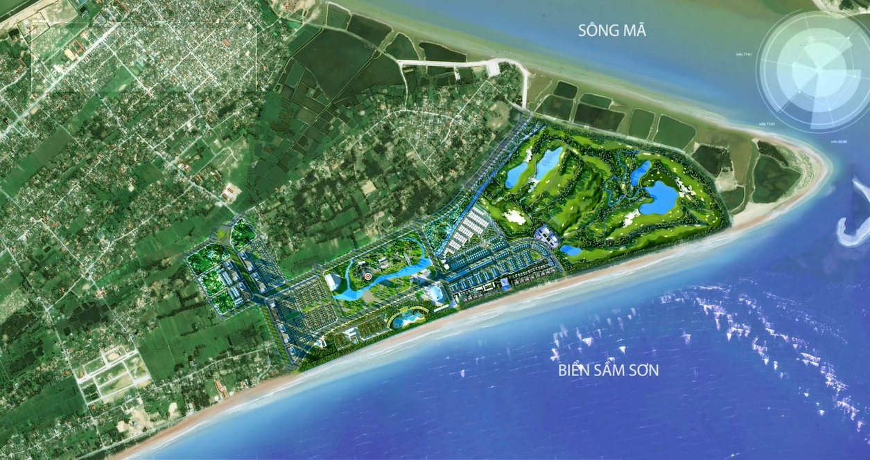 bản đồ Sầm Sơn